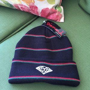 Diamond Supply Co knit hat
